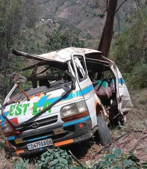 Accident bus de l'AS Nyuki