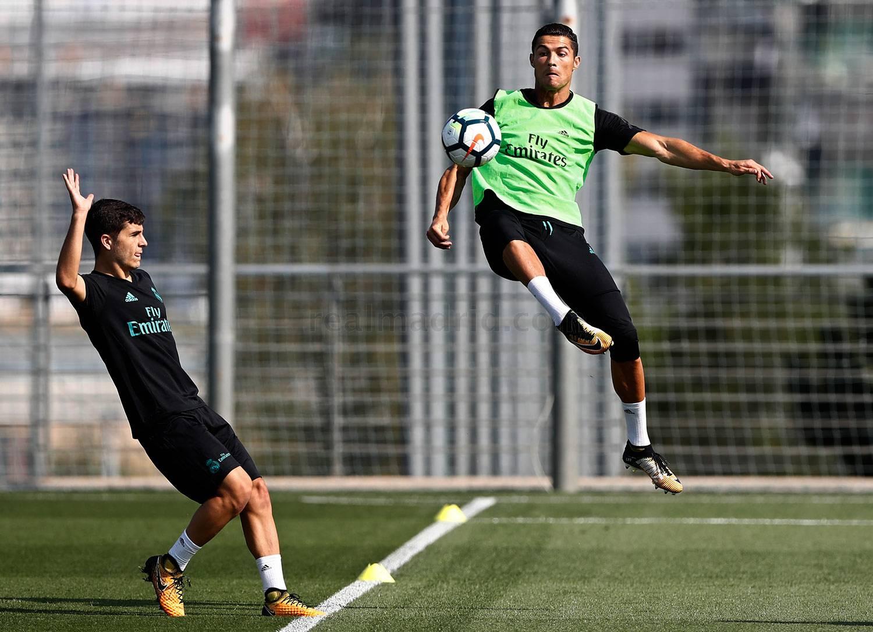 Real Madrid réprend l'entraînement