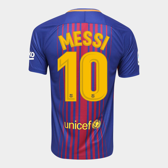 Maillot Barcelone Nike Messi #10 Domicile - Football