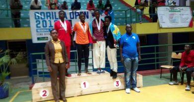 Taekwondo-Gorilla Open Kigali 2017 : Des médailles pour la RDC.
