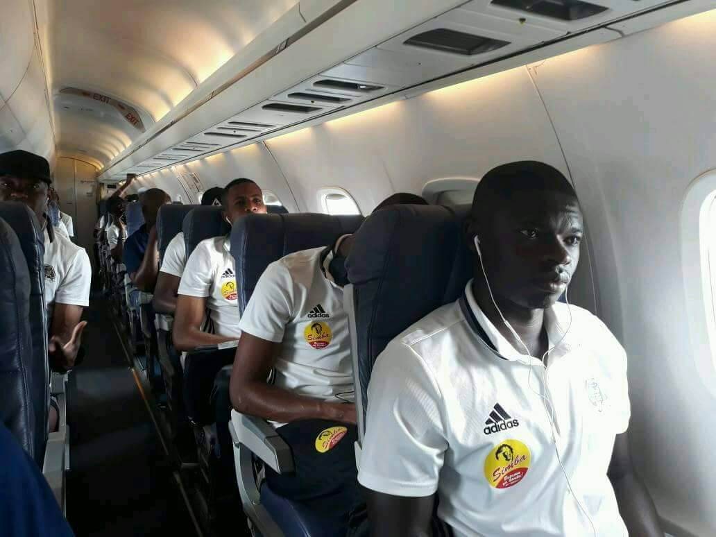 TP Mazembe en vol pour le match de la CAF
