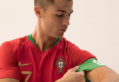 Le Portugal présente son nouvel uniforme avec Cristiano Ronaldo présente