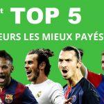 Top 5 des joueurs les mieux payes sur l'année 2016