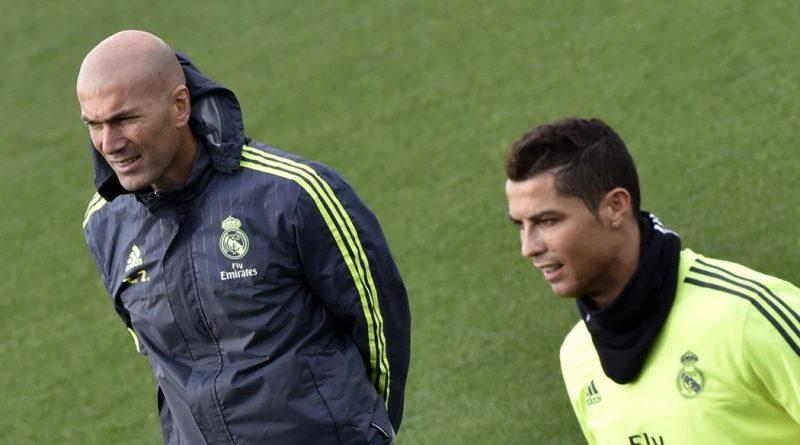 Cristiano Ronaldo et Zidane