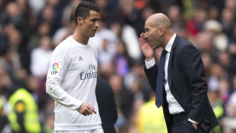 Cristiano Ronaldo et Zidane, real-madrid