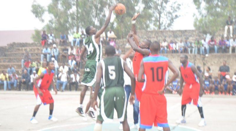 Championnat Provincial Basket Ball, à Goma