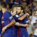 L'equipe du FC Barcelone