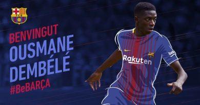 Ousmane Dembélé annoncé au FC Barcelone