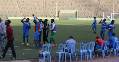 F.C Shark XI au Stade Tata Raphael