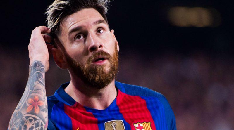 Leo Messi pensif