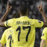 Cédric Bakambu Villarreal vs Astana - UEFA Europa Ligue