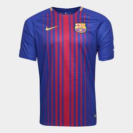 Maillot Barcelone Nike Messi #10 Domicile