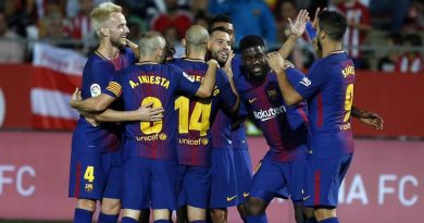 FC Barcelone x Gérone 2017