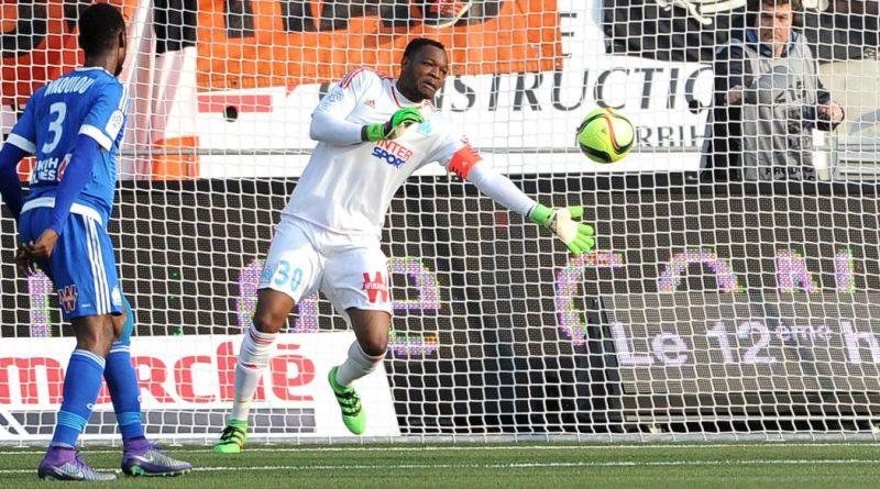 Steve Mandanda Olympique de Marseille en entraînement