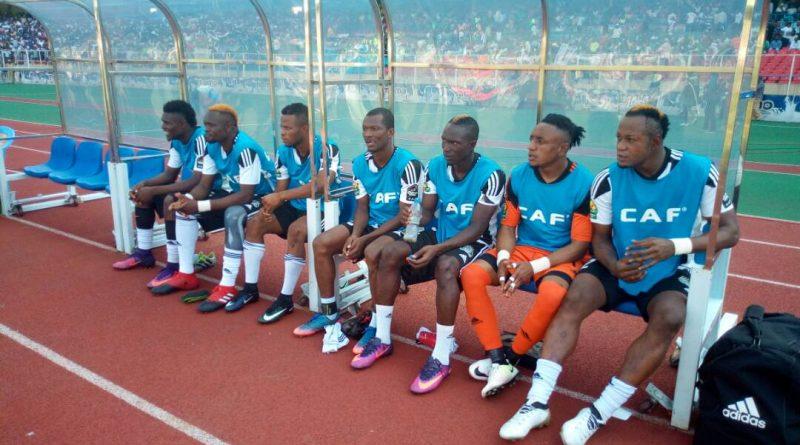 T.P Mazembe à la Coupe-CAF