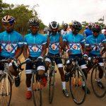 Course du Rwanda Cyclistes de la RDC