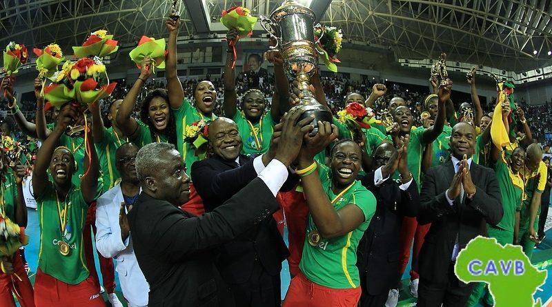 Cameroun champion de la CAVB