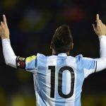 Messi Argentine Eliminatoires Russie 2018