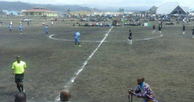 O.C Bukavu lors de son Match en LINAFOOT
