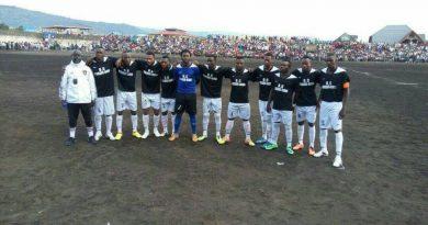 Les Joueurs de l'O.C Bukavu Dawa en LINAFOOT Zone Est