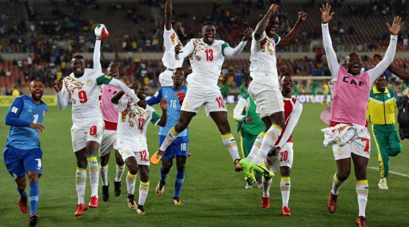Sénégal célèbre sa victoire à la qualification au Mondial 2018