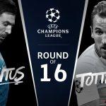 Juventus joue contre Tottenham pour les 16 de la Ligue des Champions 2017-18