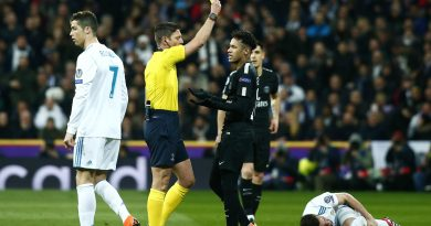 Neymar lors du match entre Real Madrid vs le PSG