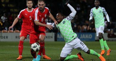 Match amical Nigéria vs Sérbie