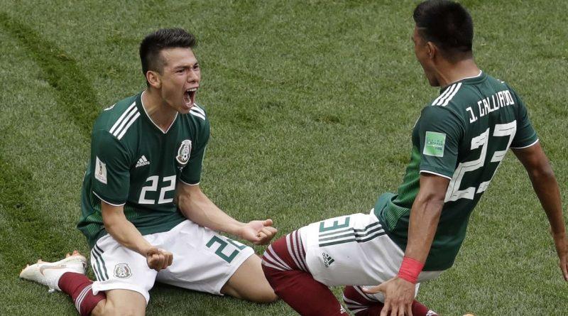 Joueur Mexique Mondial Russie 2018
